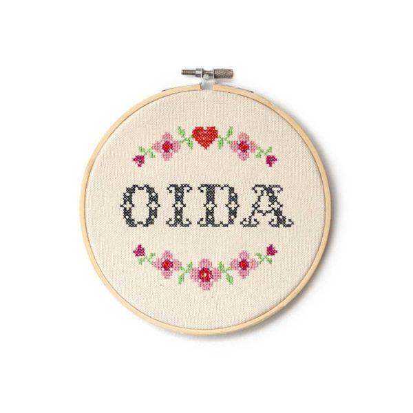 Landkinder Sprüche OIDA rosa
