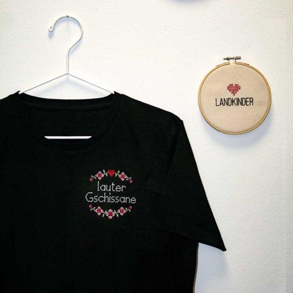 Herren T-Shirt lauter gschissane